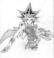 Penciled Yami by rebelsolo83