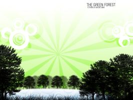 The Green Forest by JavierZhX