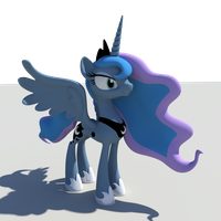 Work in Progress Princess Luna Statue Update #3 by Sentinel373