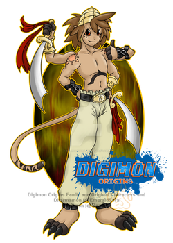 Digimon Origins: Dharmamon by EmeraldSora
