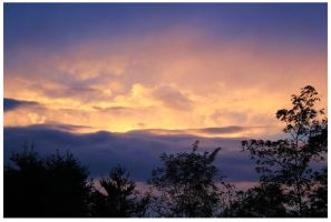 Early October Sunset -2013 by CrystalMarineGallery