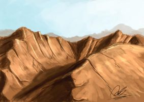 Mountain - Speed Paint by mhofever