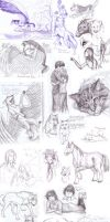 Sketchdump the another. by AriaDog