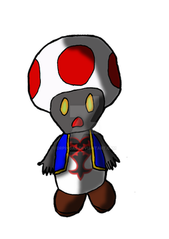 Toad oscuro Kingdom Hearts JR by DrPingas