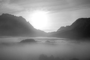 clouds in vally. by nawphotos