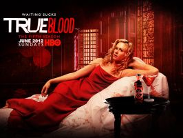 True Blood Season 5 Poster Contest by LyukP3