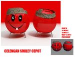 Celengan Smiley Cepot by BANDUNGS