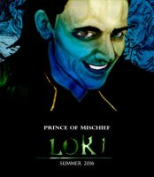 Loki Fan Film Poster by vocaltaffy