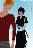 Bleach 459: Ichigo and Rukia by GoLD-MK