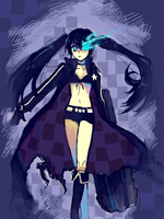 BLACK ROCK SHOOTER by Klunatic