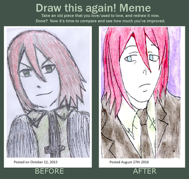 Spirit Soul eater before and after meme by Fran48