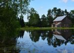 Old Barn By The Lily Pond by recycledrelatives