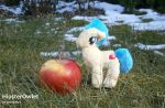 Mini Red Delicious Plushie by HipsterOwlet