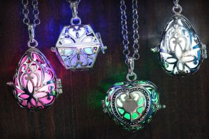 Glowing Magical Pendant by CatherinetteRings