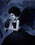 Midnight Wings by Enamorte