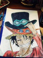 Ruffy by MediumiX