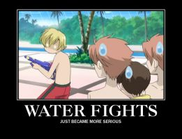 Water Fight Demotivational by Vcorb1