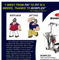 Brutus, Bluto and Bowflex by requin