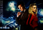 11th Doctor and Rose Tyler Poster by feel-inspired