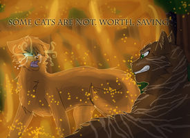 Not Worth Saving by WarriorCat3042