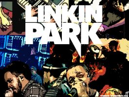 Linkin Park Wallpaper by todraw