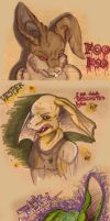 Faces on my carboard by acidshadow