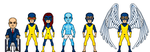 First Class X-Men- Marvel Cinematic Universe by GrimlockMegatron