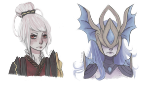 tHE BAES by ci-fer