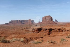 Desert - Monument Valley, view 4 by elodie50a
