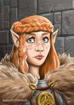 Friedhilde Portrait by Syldur