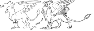 Improvement - Old Gryphon Base by Viking-Dragon