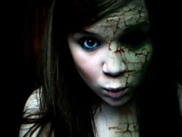 zombie girl by afrojan