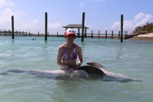 Dolphins Belly Rub by RaydaraArtIsABang