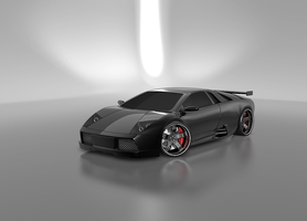 Murcielago BLack Knight WIP by BlaCkOuT1911