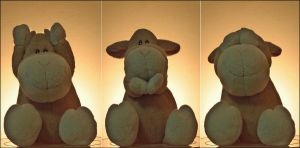 Three Wise Teddies by TuRKoo