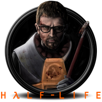 Half-Life Icon by madrapper
