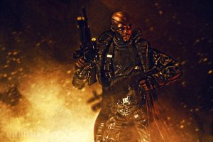 Nick Fury - Toy Photography by RyanLord