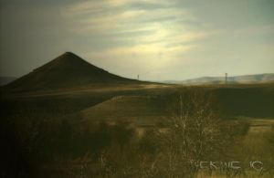 Shadows behind the hill by Hermetic-Wings