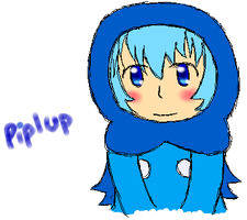 Gijinka: Piplup by PuffyTrousers
