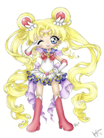 Super Sailor Moon by Fujisuzu