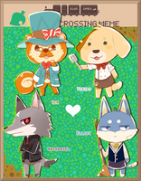 Eclair Express: Animal Crossing Meme by arcanium