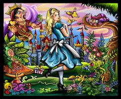 Alice in Wonderland by Artist-in-Despair