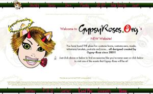 NEW WEBSITE FOR GYPSYROSES.ORG by che4u