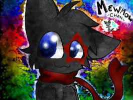 MewMowChan comision C: by DerpyRacoon