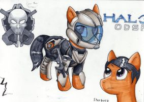 HALO ODSP: Starbuck by Tycho-Skies