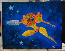 Samus in Space by cwgabriel