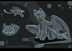 Toothless by Yanguchitzure