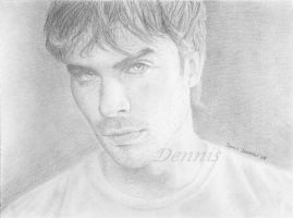 Ian Somerhalder by TheDrawnDen93
