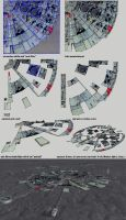 TUTORIAL: From Millenium Falcon 2 Moonbase Alpha by scifilicious