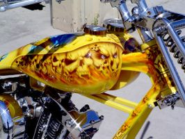 chopper bike by xsomedudex